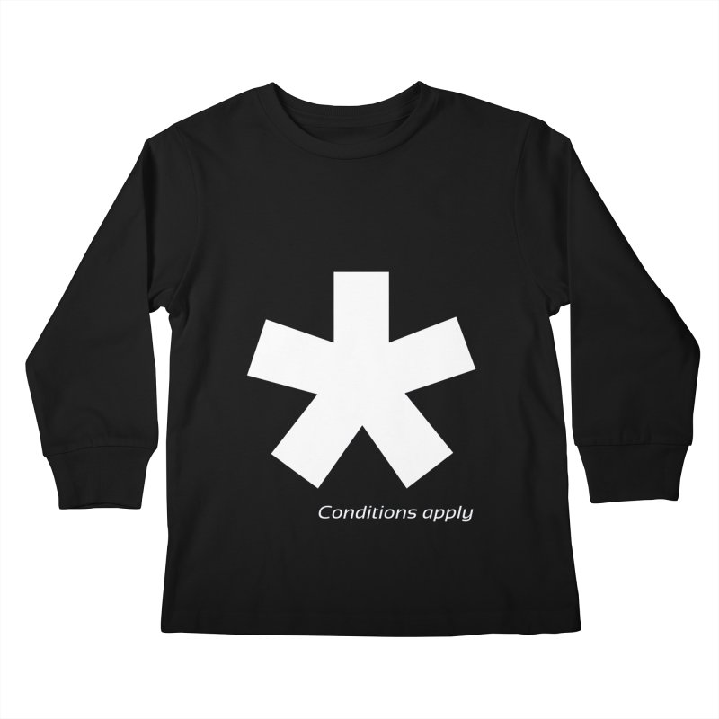 Asterix Conditions Apply Tee Kids Longsleeve T-Shirt by BIZGEN AUSTRALIA