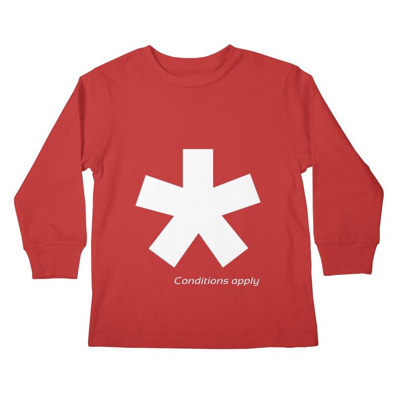 Asterix Conditions Apply Tee Kids Longsleeve T-Shirt by BIZGEN AUSTRALIA