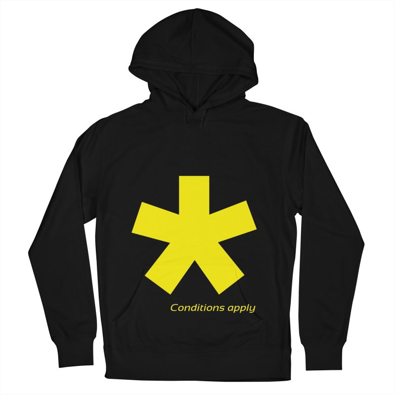 Asterix conditions apply style design Women's French Terry Pullover Hoody by BIZGEN AUSTRALIA