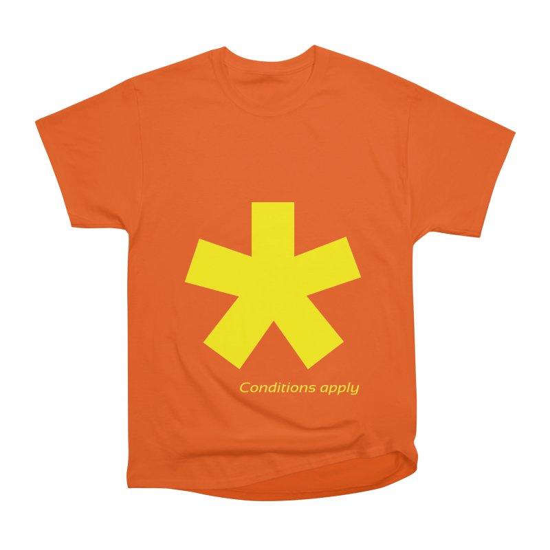 Asterix conditions apply style design Women's T-Shirt by BIZGEN AUSTRALIA