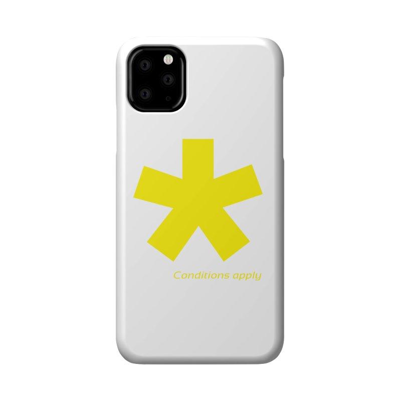 Asterix conditions apply style design Accessories Phone Case by BIZGEN AUSTRALIA