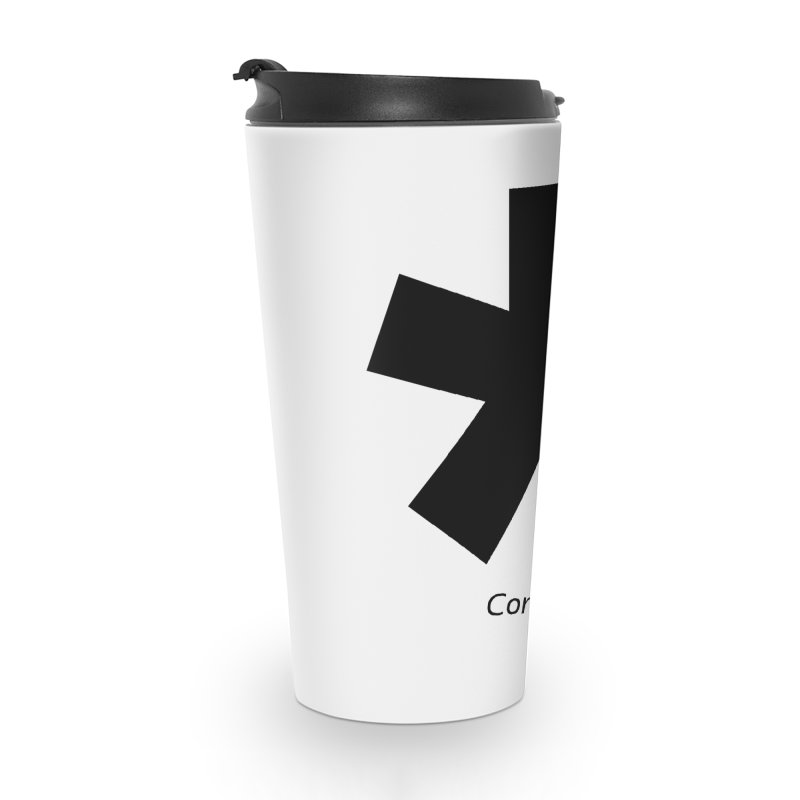 Abstract Asterix. Black design for conditions apply design. Accessories Travel Mug by BIZGEN AUSTRALIA