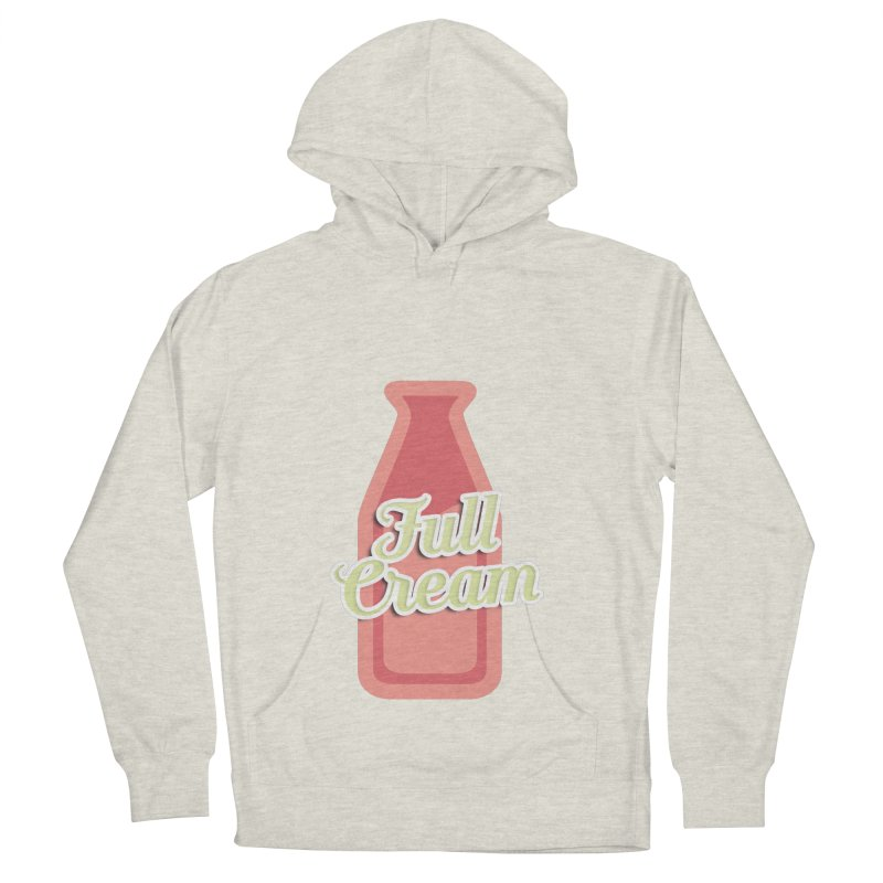 Full Cream Men's French Terry Pullover Hoody by BIZGEN AUSTRALIA