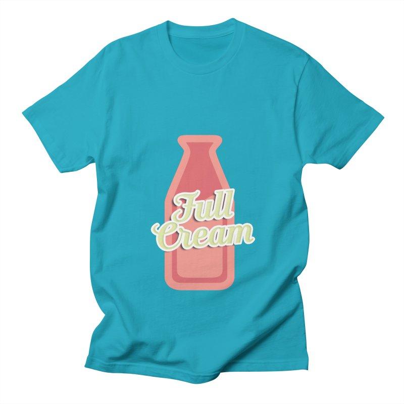 Full Cream Men's T-Shirt by BIZGEN AUSTRALIA