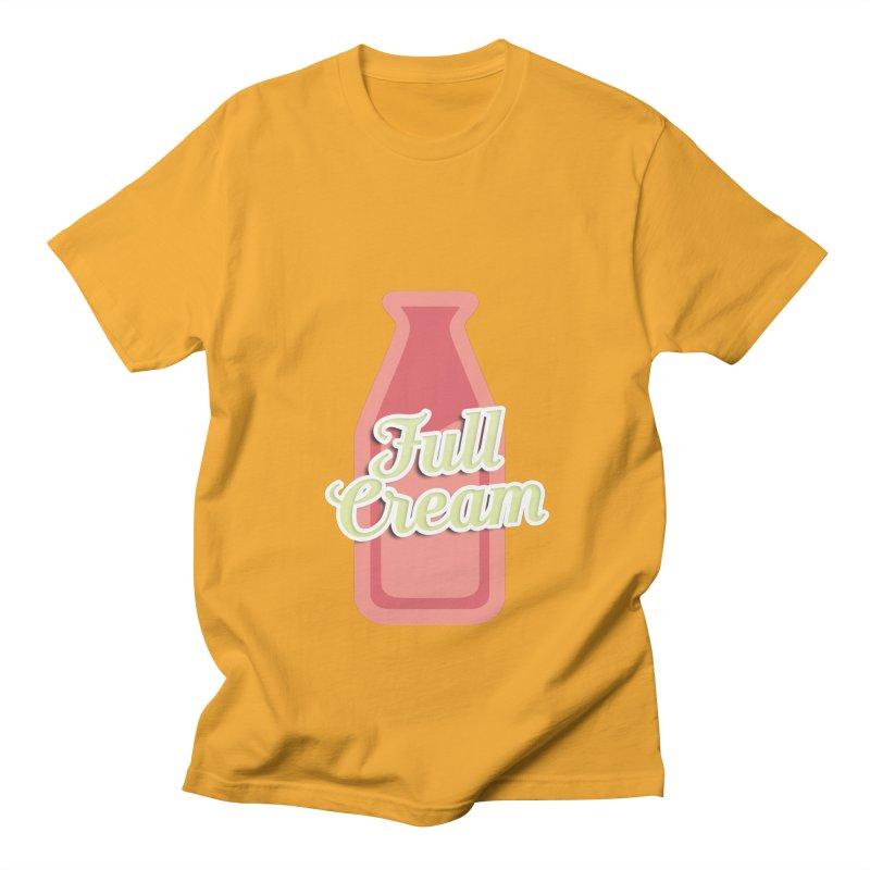 Full Cream Women's Regular Unisex T-Shirt by BIZGEN AUSTRALIA