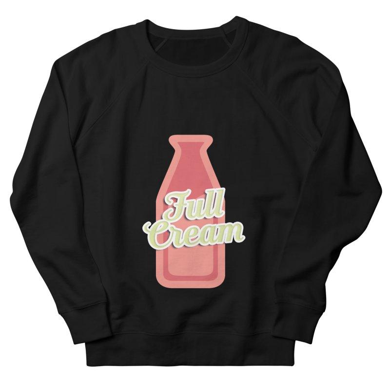 Full Cream Women's French Terry Sweatshirt by BIZGEN AUSTRALIA