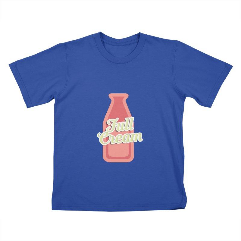 Full Cream Kids T-Shirt by BIZGEN AUSTRALIA