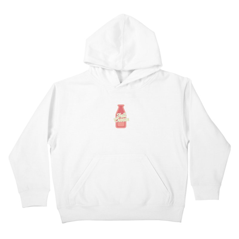 Full Cream Kids Pullover Hoody by BIZGEN AUSTRALIA
