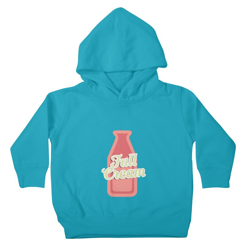 Full Cream Kids Toddler Pullover Hoody by BIZGEN AUSTRALIA