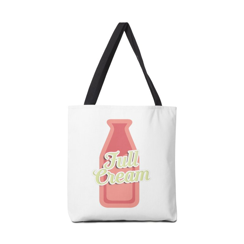 Full Cream Accessories Tote Bag Bag by BIZGEN AUSTRALIA