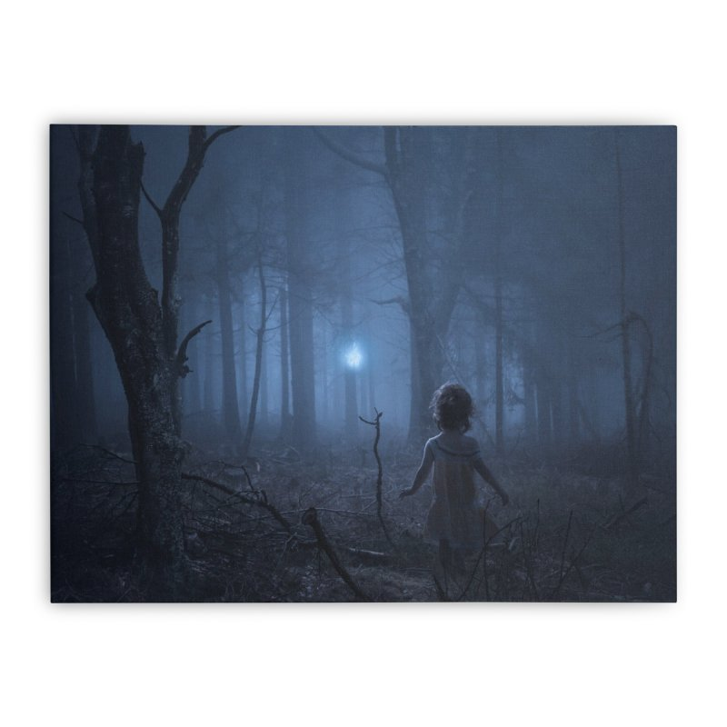 Pixie Led Home Stretched Canvas by bjorke's Artist Shop