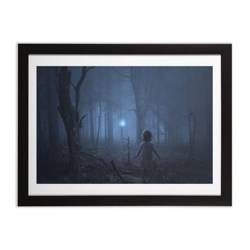 Pixie Led Home Framed Fine Art Print by bjorke's Artist Shop