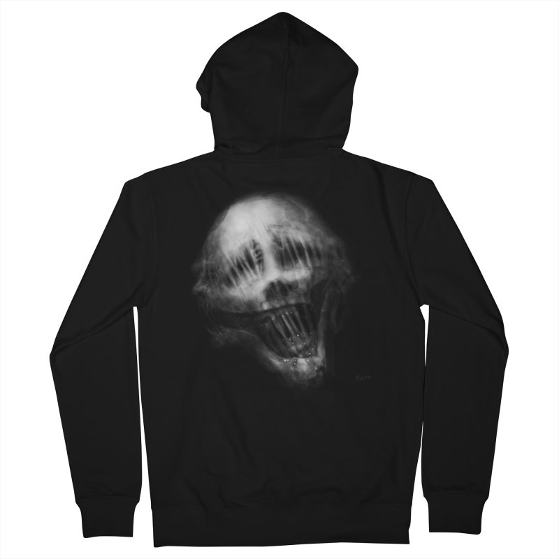 Untitled 69 Women's Zip-Up Hoody by Black Abyss