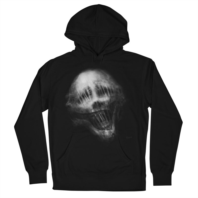 Untitled 69 Women's French Terry Pullover Hoody by Black Abyss