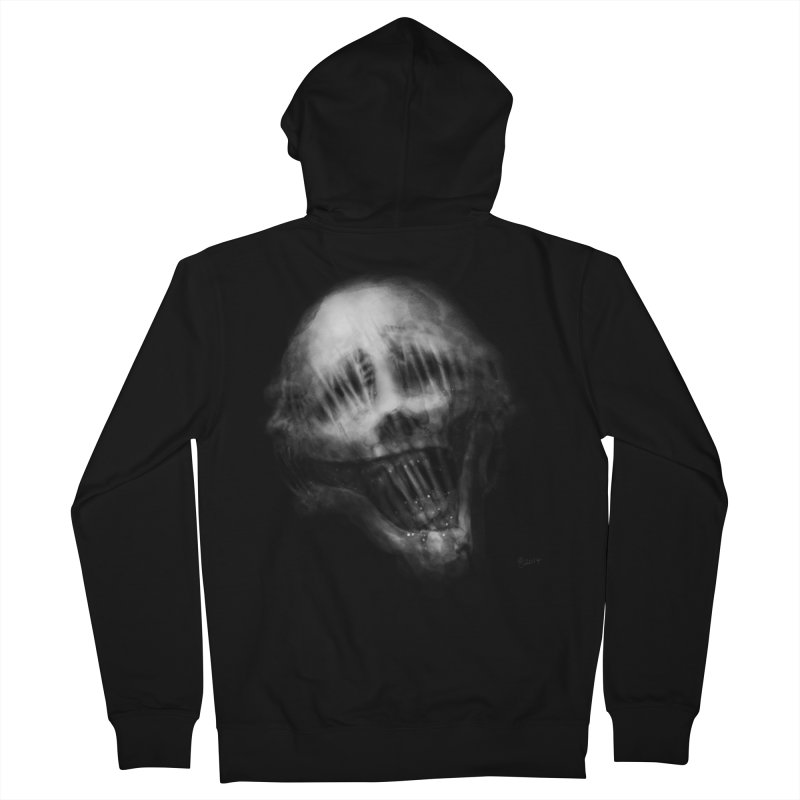 Untitled 69 Men's French Terry Zip-Up Hoody by Black Abyss