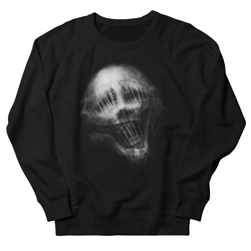 Untitled 69 Women's French Terry Sweatshirt by Black Abyss