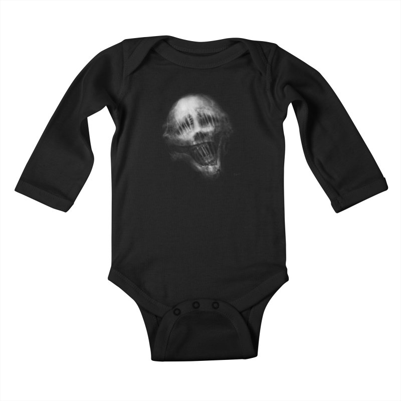 Untitled 69 Kids Baby Longsleeve Bodysuit by Black Abyss