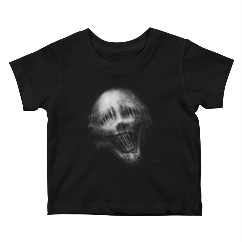 Untitled 69 Kids Baby T-Shirt by Black Abyss