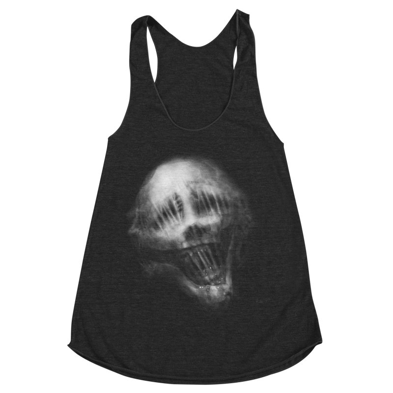 Untitled 69 Women's Racerback Triblend Tank by Black Abyss