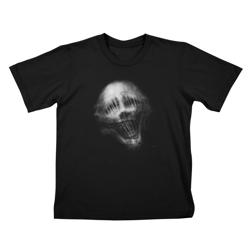 Untitled 69 Kids T-Shirt by Black Abyss