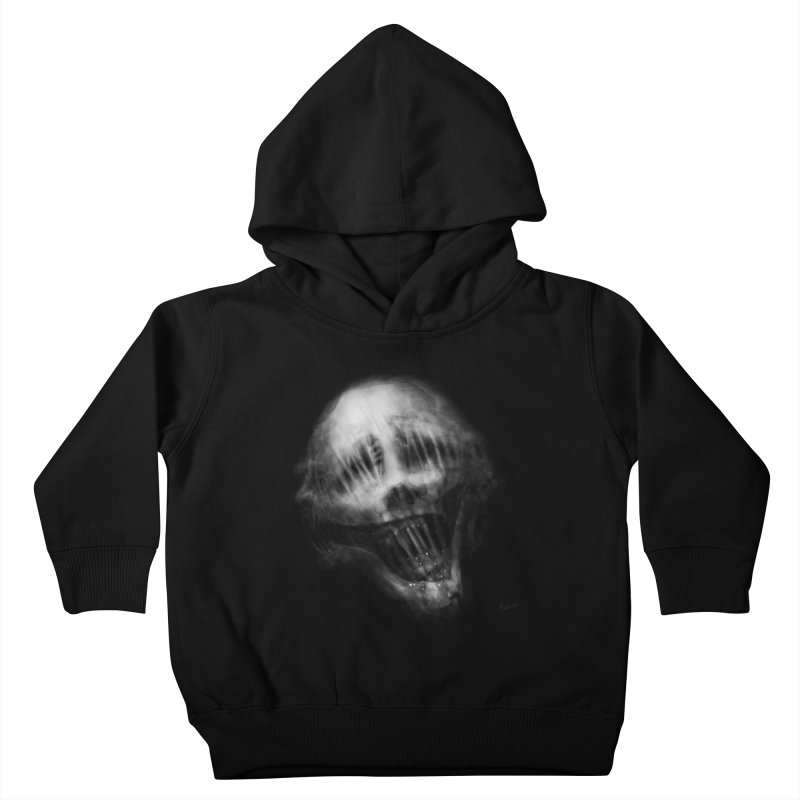 Untitled 69 Kids Toddler Pullover Hoody by Black Abyss