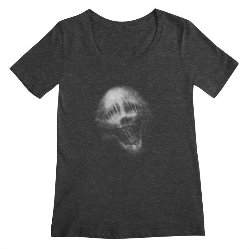 Untitled 69 Women's Scoopneck by blackabyss's Artist Shop