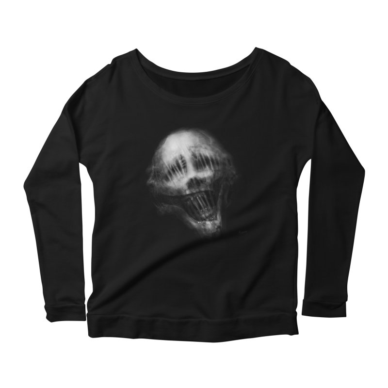Untitled 69 Women's Scoop Neck Longsleeve T-Shirt by Black Abyss