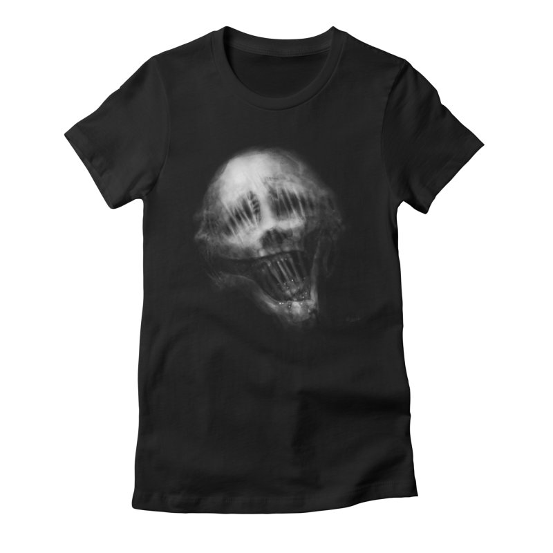 Untitled 69 Women's Fitted T-Shirt by Black Abyss