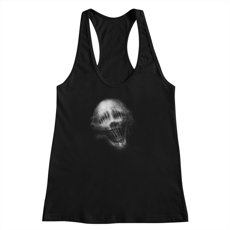 Untitled 69 Women's Racerback Tank by Black Abyss