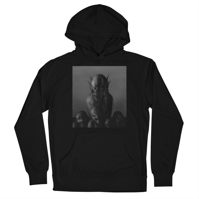 Untitled 84 Women's Pullover Hoody by Black Abyss