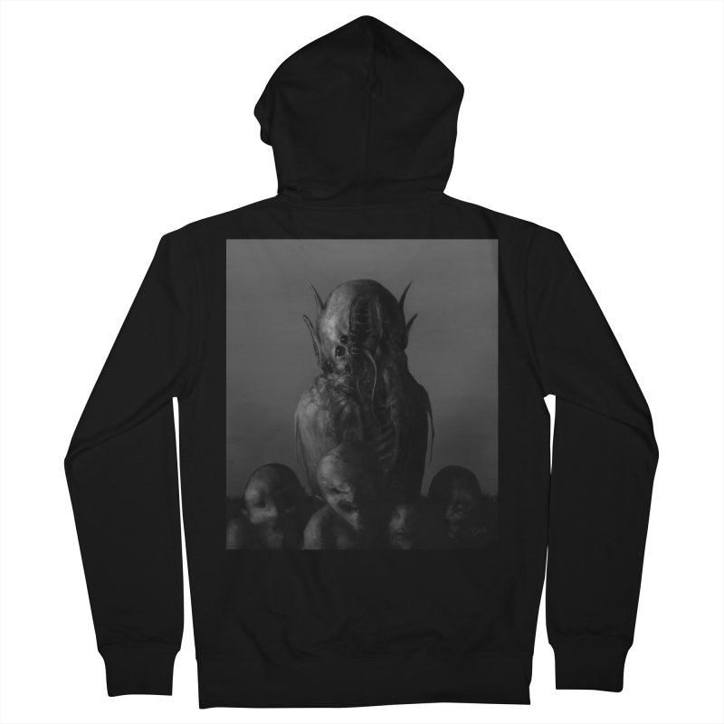 Untitled 84 Women's Zip-Up Hoody by blackabyss's Artist Shop