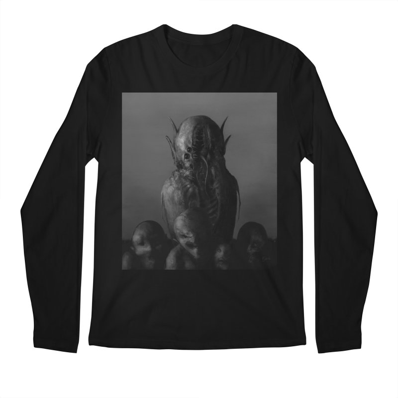 Untitled 84 Men's Regular Longsleeve T-Shirt by Black Abyss