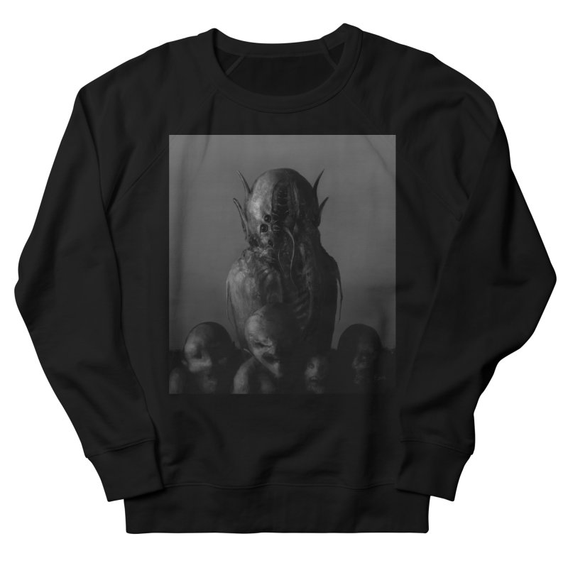 Untitled 84 Women's French Terry Sweatshirt by Black Abyss