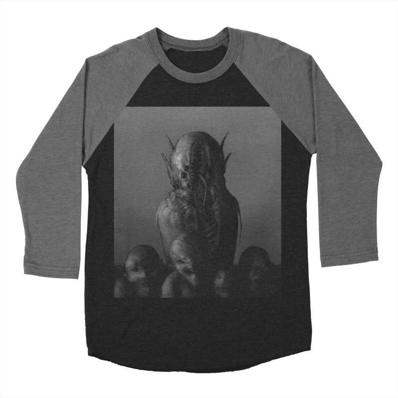 Untitled 84 Men's Baseball Triblend Longsleeve T-Shirt by Black Abyss
