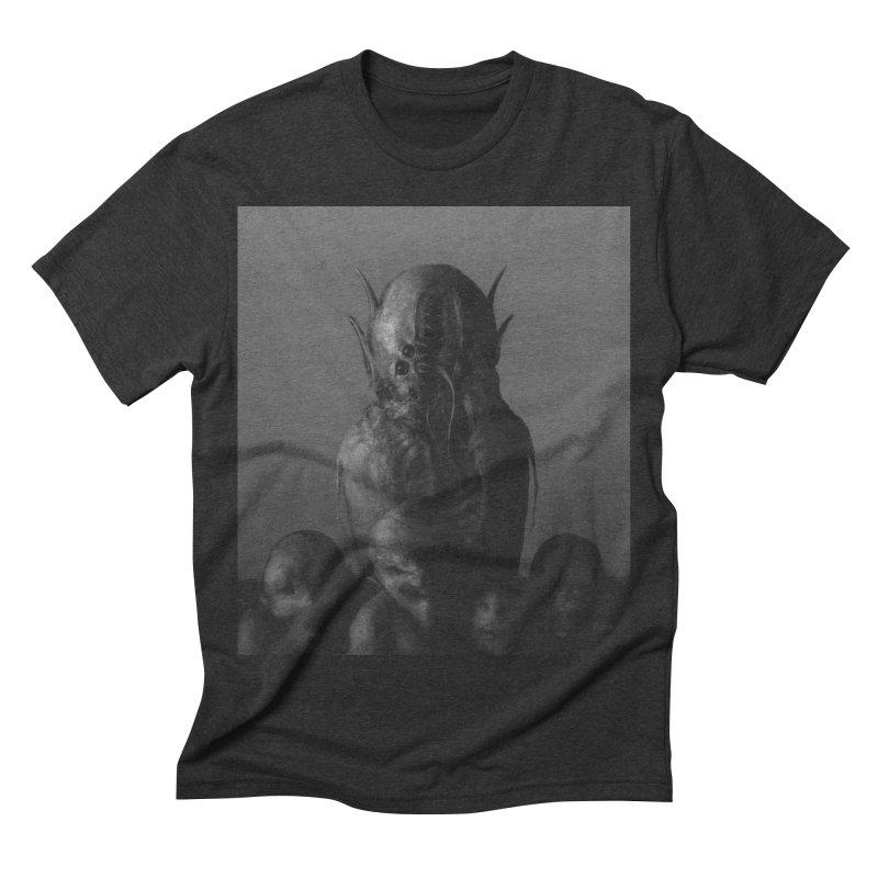 Untitled 84 Men's Triblend T-shirt by blackabyss's Artist Shop