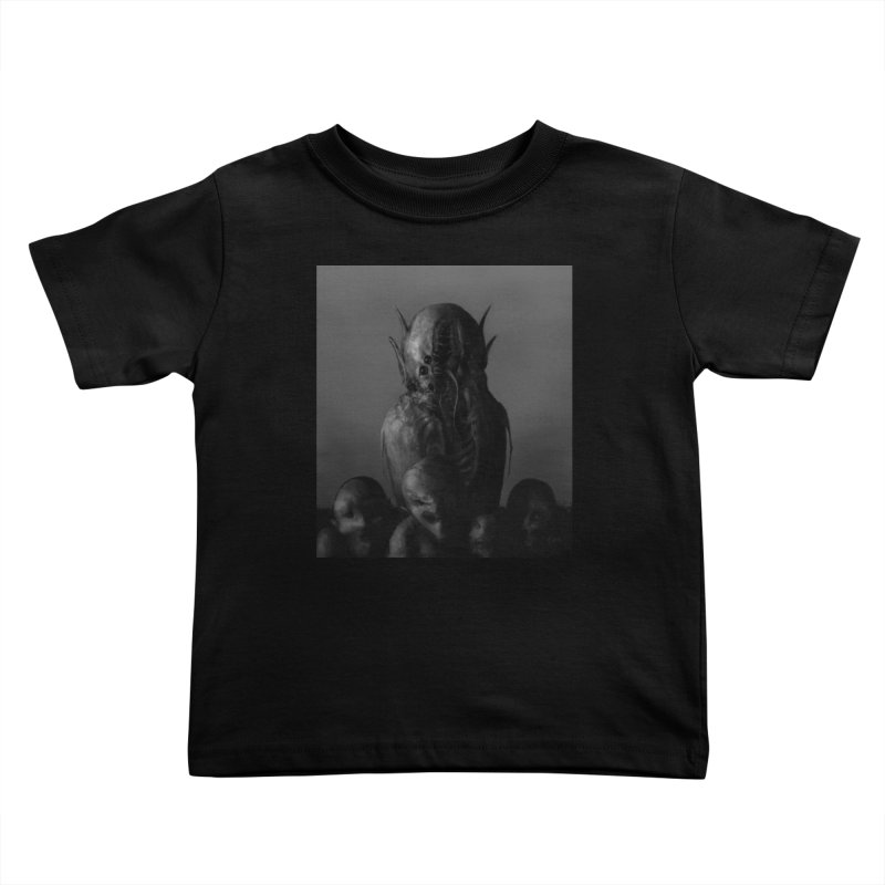Untitled 84 Kids Toddler T-Shirt by Black Abyss
