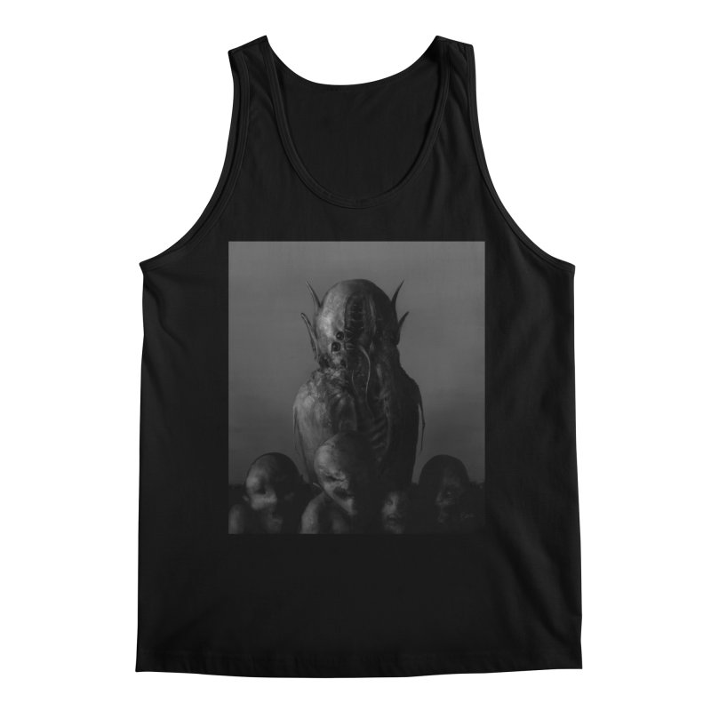 Untitled 84 Men's Regular Tank by Black Abyss