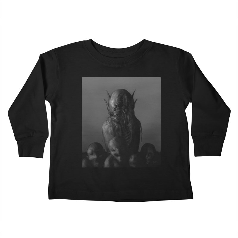 Untitled 84 Kids Toddler Longsleeve T-Shirt by Black Abyss