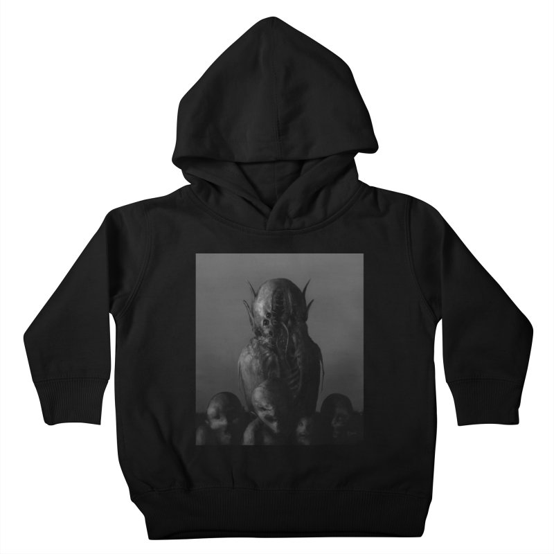 Untitled 84 Kids Toddler Pullover Hoody by Black Abyss
