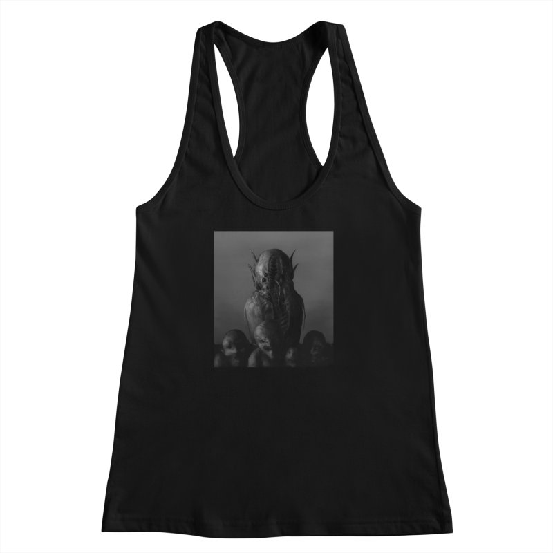 Untitled 84 Women's Racerback Tank by Black Abyss