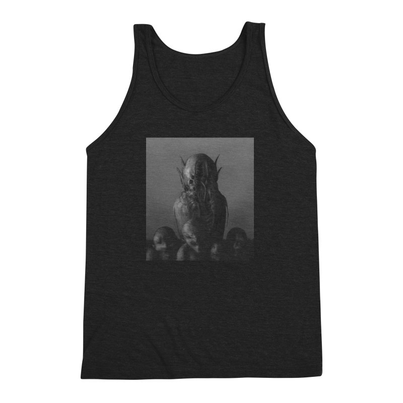 Untitled 84 Men's Triblend Tank by Black Abyss