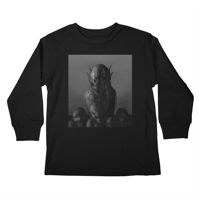 Untitled 84 Kids Longsleeve T-Shirt by Black Abyss