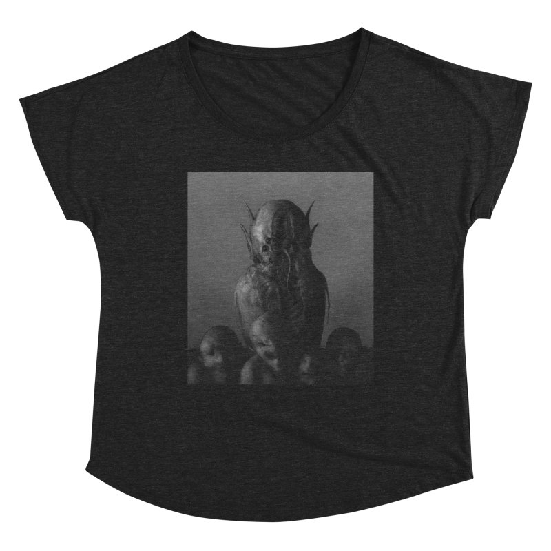 Untitled 84 Women's Scoop Neck by Black Abyss