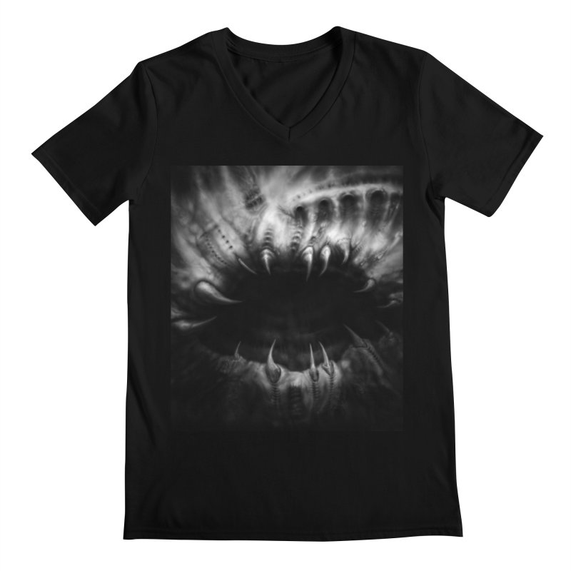 Shai Hulud Men's V-Neck by Black Abyss