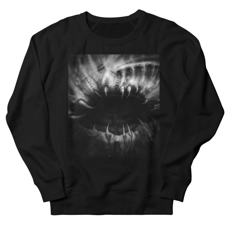 Shai Hulud Women's French Terry Sweatshirt by Black Abyss