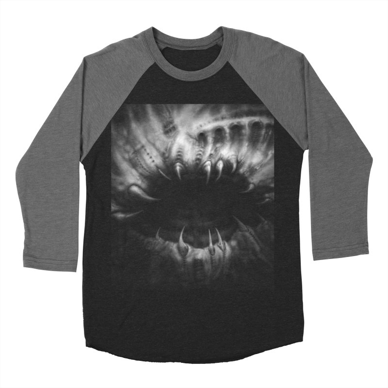 Shai Hulud Men's Baseball Triblend Longsleeve T-Shirt by Black Abyss