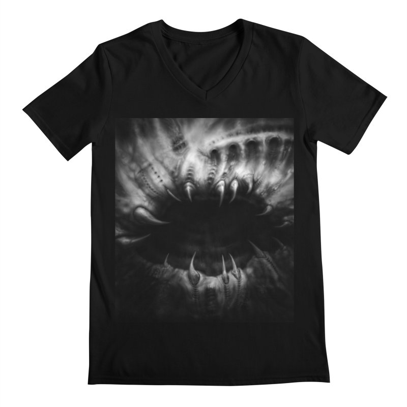 Shai Hulud Men's Regular V-Neck by Black Abyss