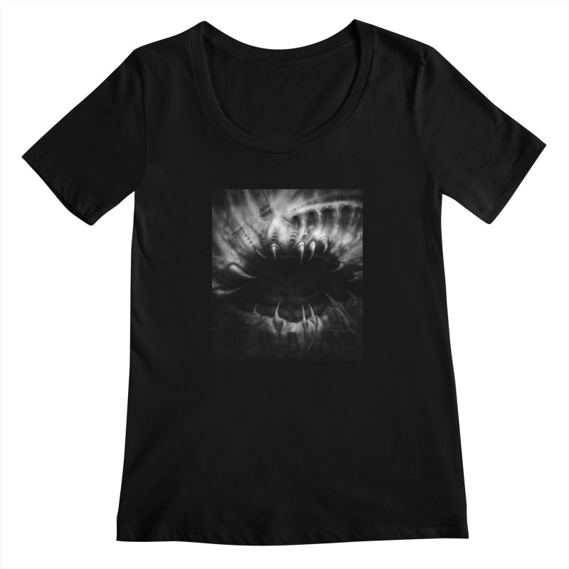 Shai Hulud Women's Scoopneck by blackabyss's Artist Shop