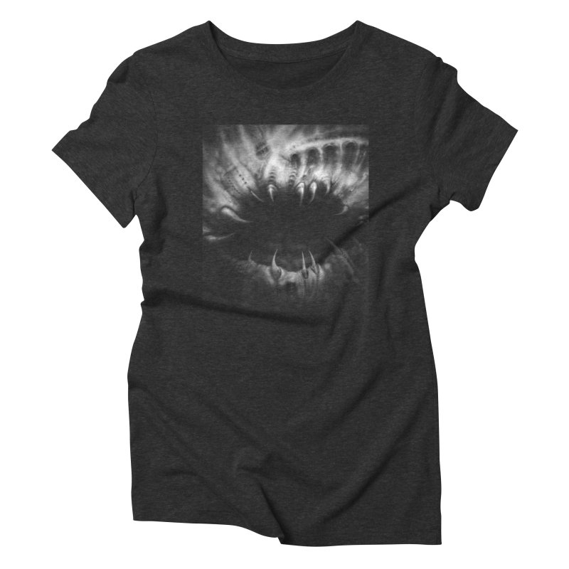 Shai Hulud Women's Triblend T-Shirt by Black Abyss