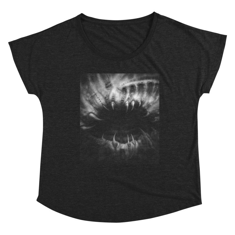 Shai Hulud Women's Scoop Neck by Black Abyss